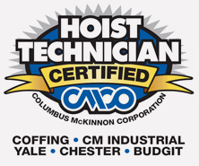 CMCO Hoist Technician Certification